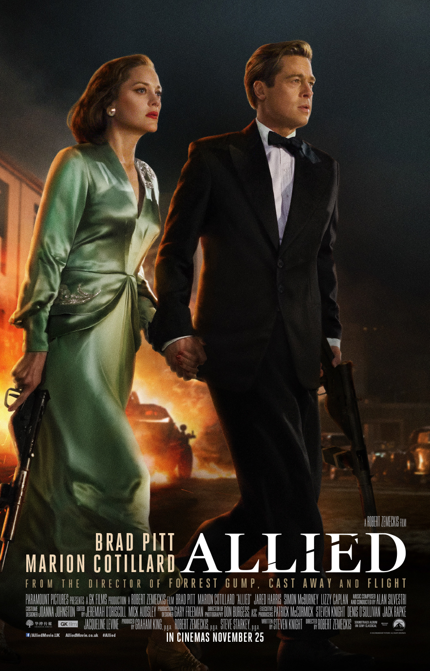 brad pitt amp marion cotillard are dressed to kill in this