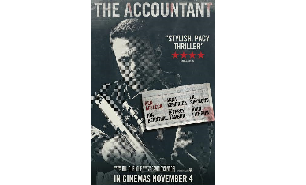 Accountant Movie Poster