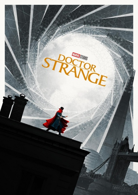 how to make doctor strange poster