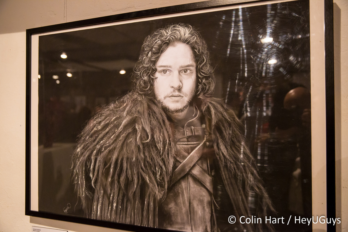 visit the game of thrones art gallery event in london. Black Bedroom Furniture Sets. Home Design Ideas