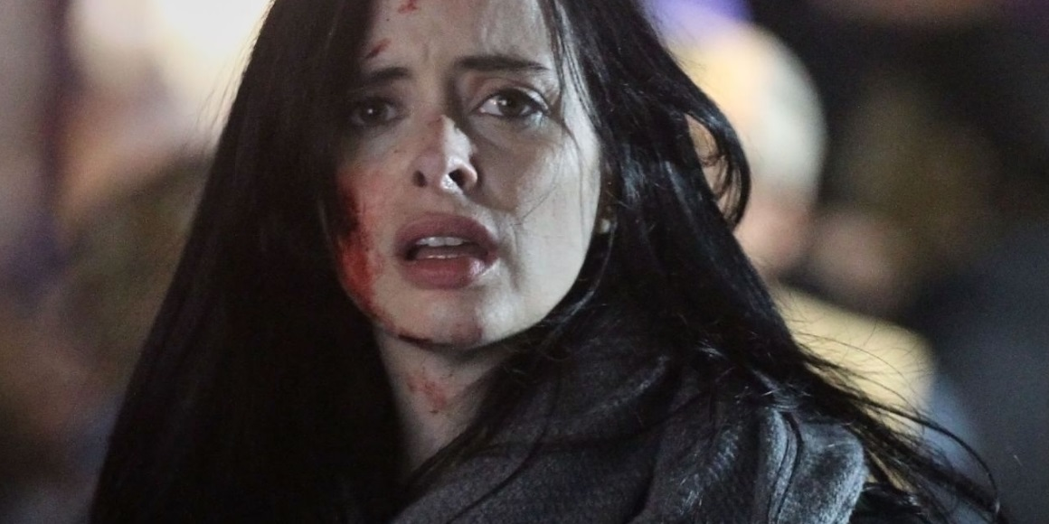 Jessica Jones faces Misty Knight in first The Defenders set photos ...