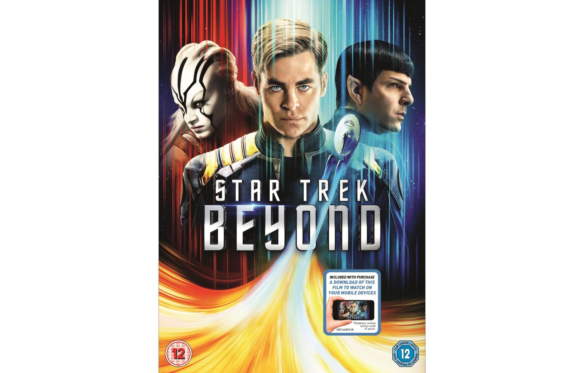 Star trek movie blu ray release