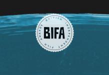 The 2016 BIFA logo