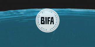 The 2016 BIFA logo