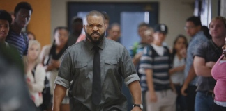 Fist Fight Movie Image featuring Ice Cube not very chilled