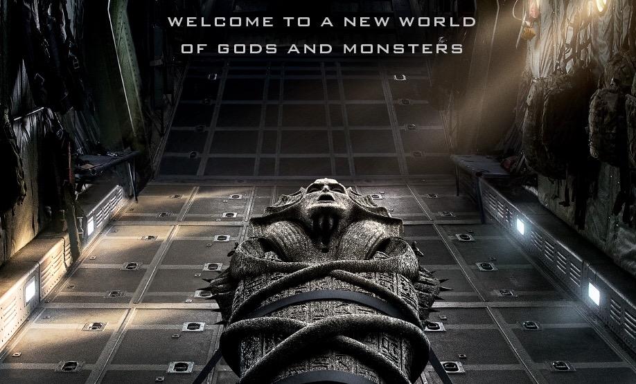 The Mummy UK poster