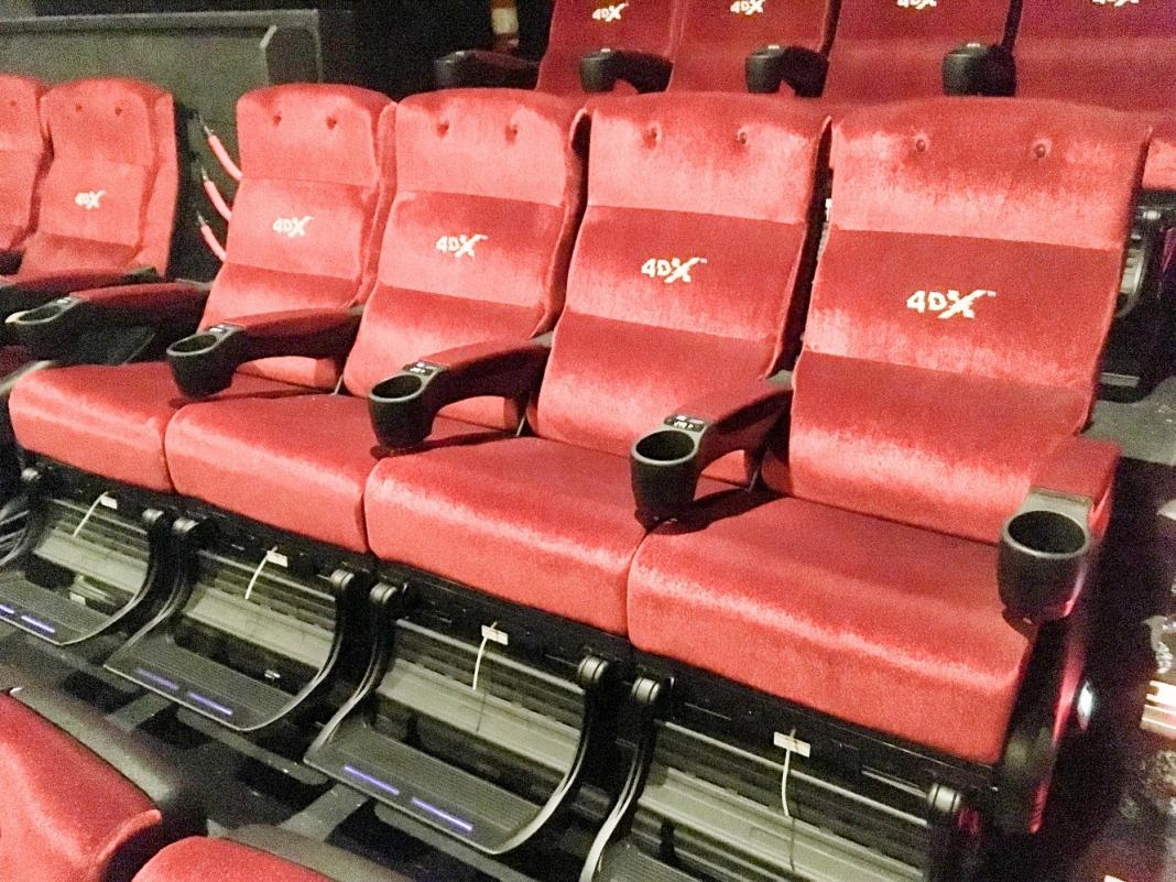 4DX cinema seats