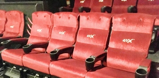 4DX cinema seats
