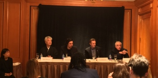 Martin Scorsese Adam Driver Liam Neeson Silence Press Conference