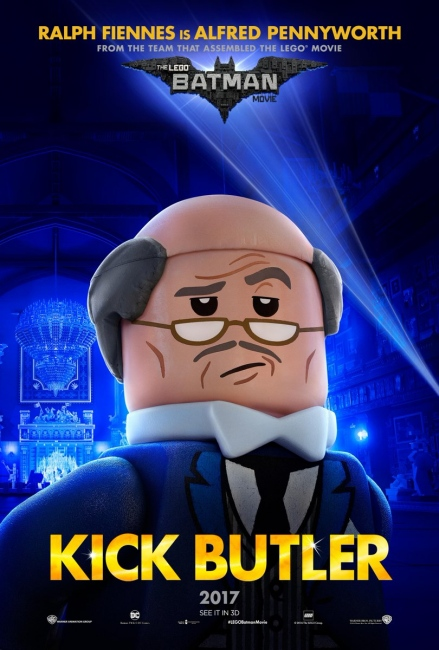 Lego Batman Character Poster Alfred