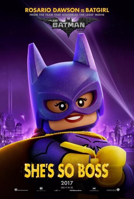 Lego Batman Character Poster Batgirl