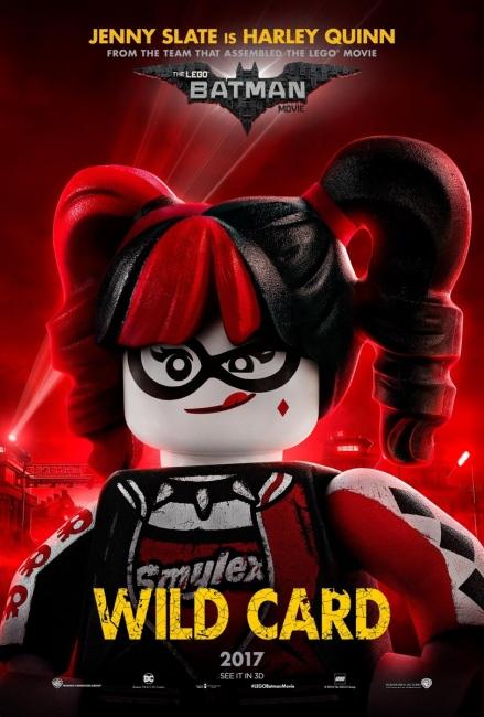 Lego Batman Character Poster Harley Quinn