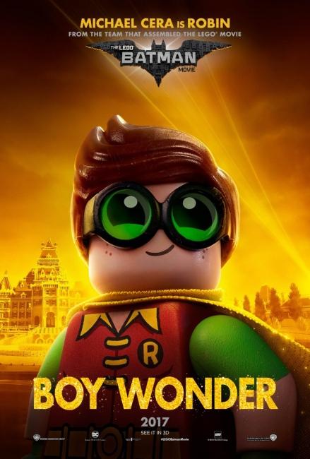 Lego Batman Character Poster Robin