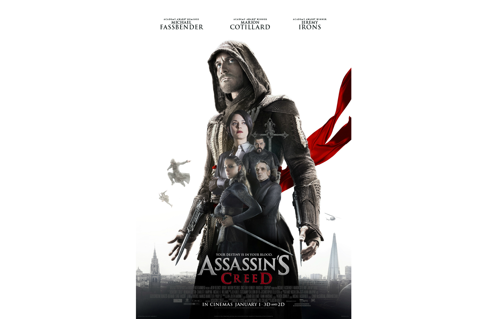 'Assassin's Creed' film could be a trilogy, if succesful