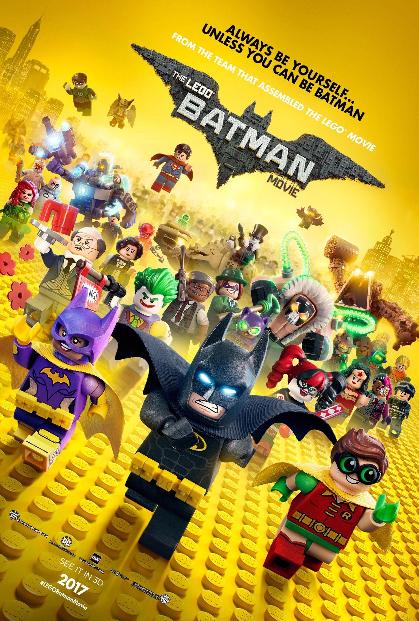 LEGO Batman Movie UK Poster - HeyUGuys