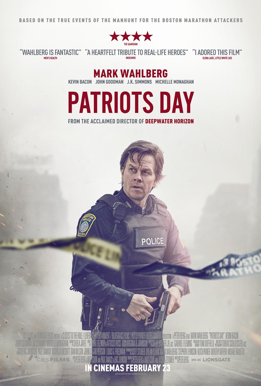 Patriots Day UK Movie Poster - HeyUGuys