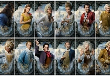 Beauty and the Beast Movie Poster Collage