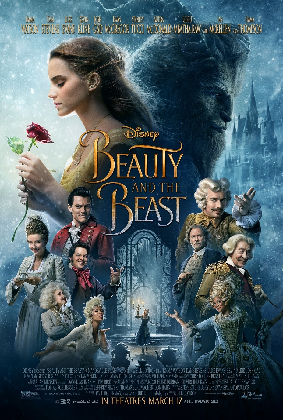 This is a graphic of Lively Beauty and the Beast Images