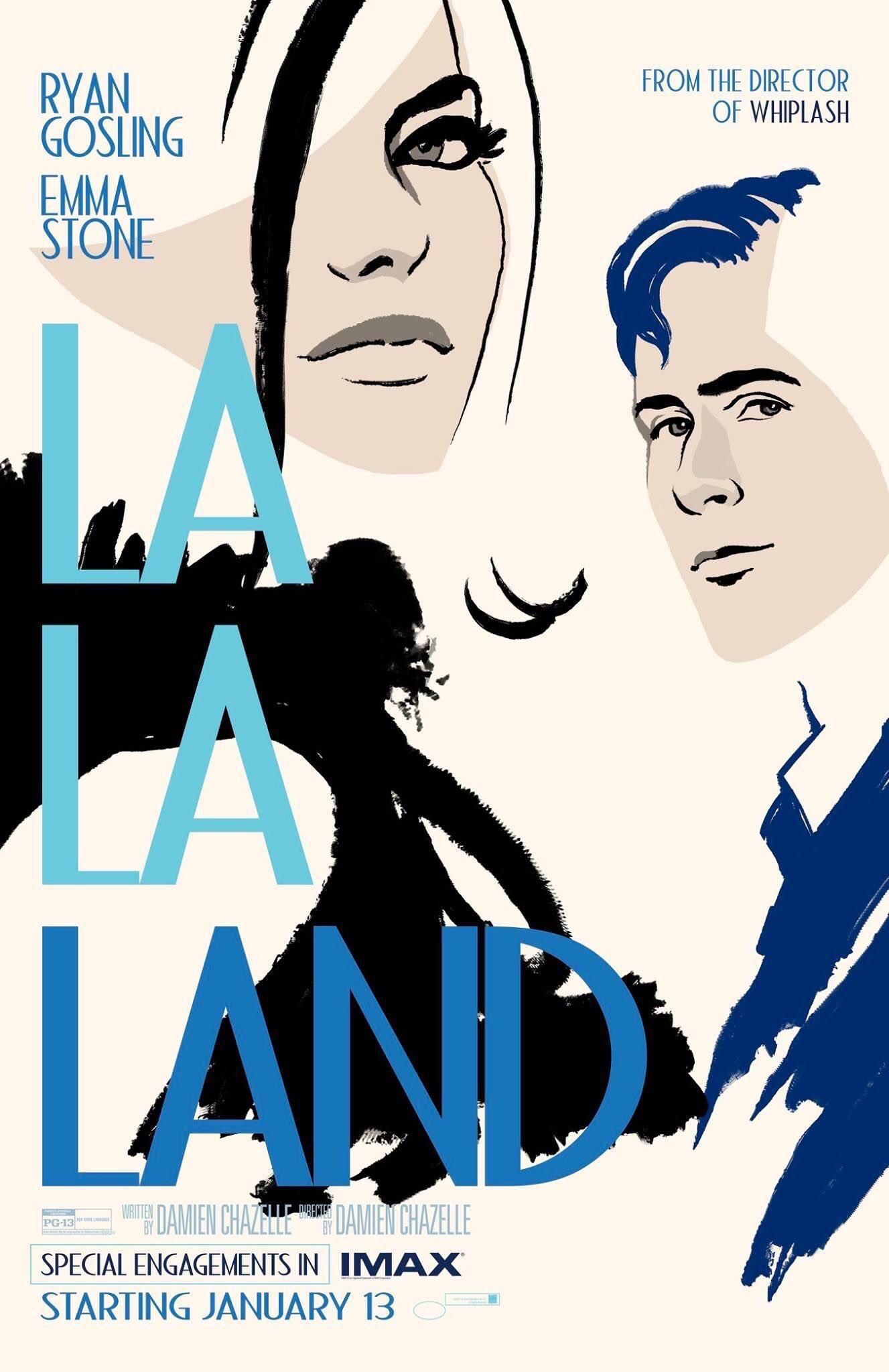 La La Land IMAX Poster