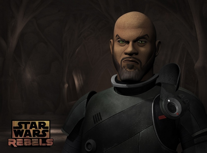 Saw Gerrera - Forest Whittaker in Star Wars Rebels