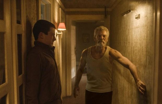 Stephen Lang's 'Blind Man'