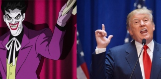 The Joker Donald Trump