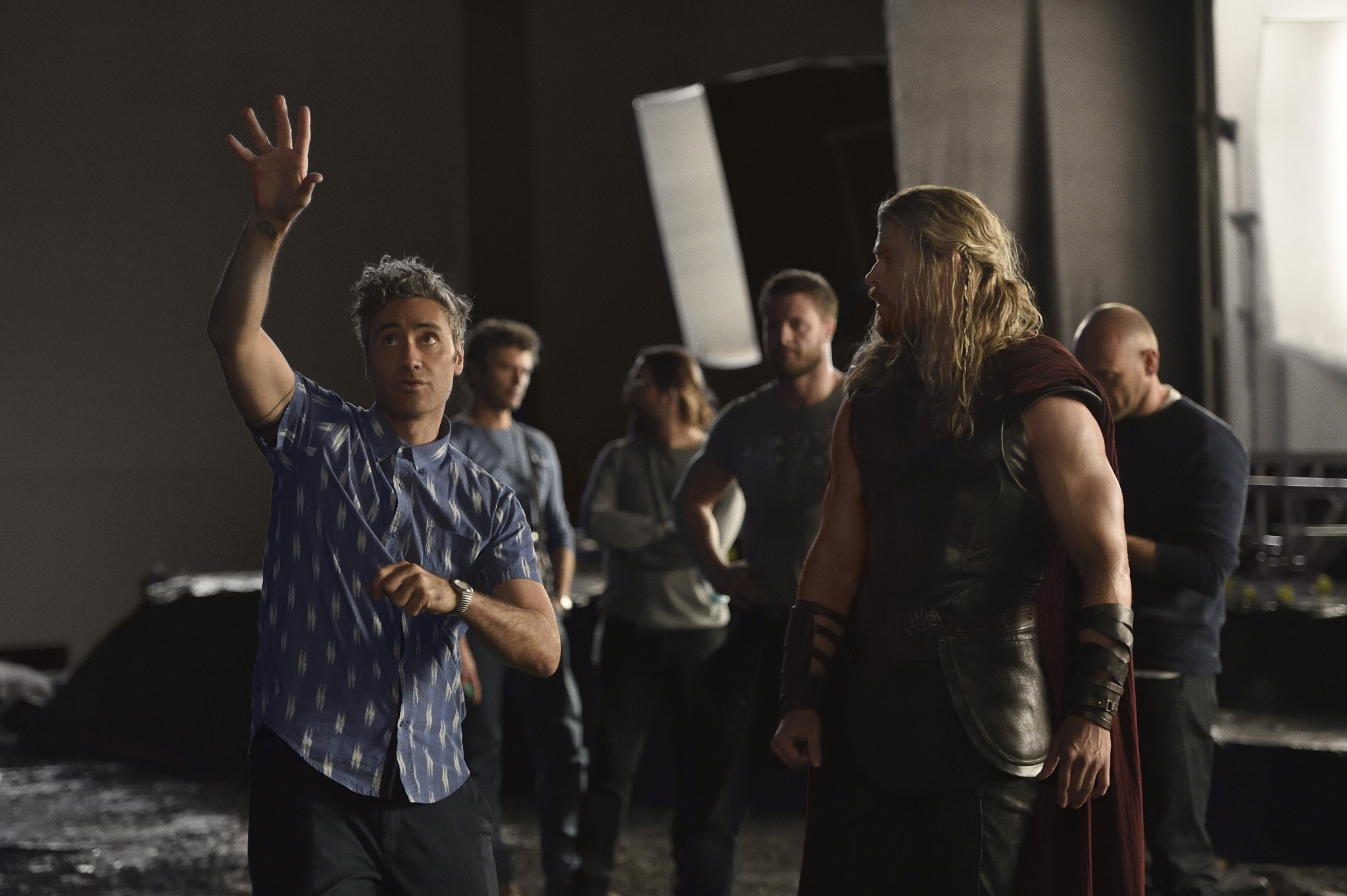 Thor: Ragnarok Behind The Scenes Image