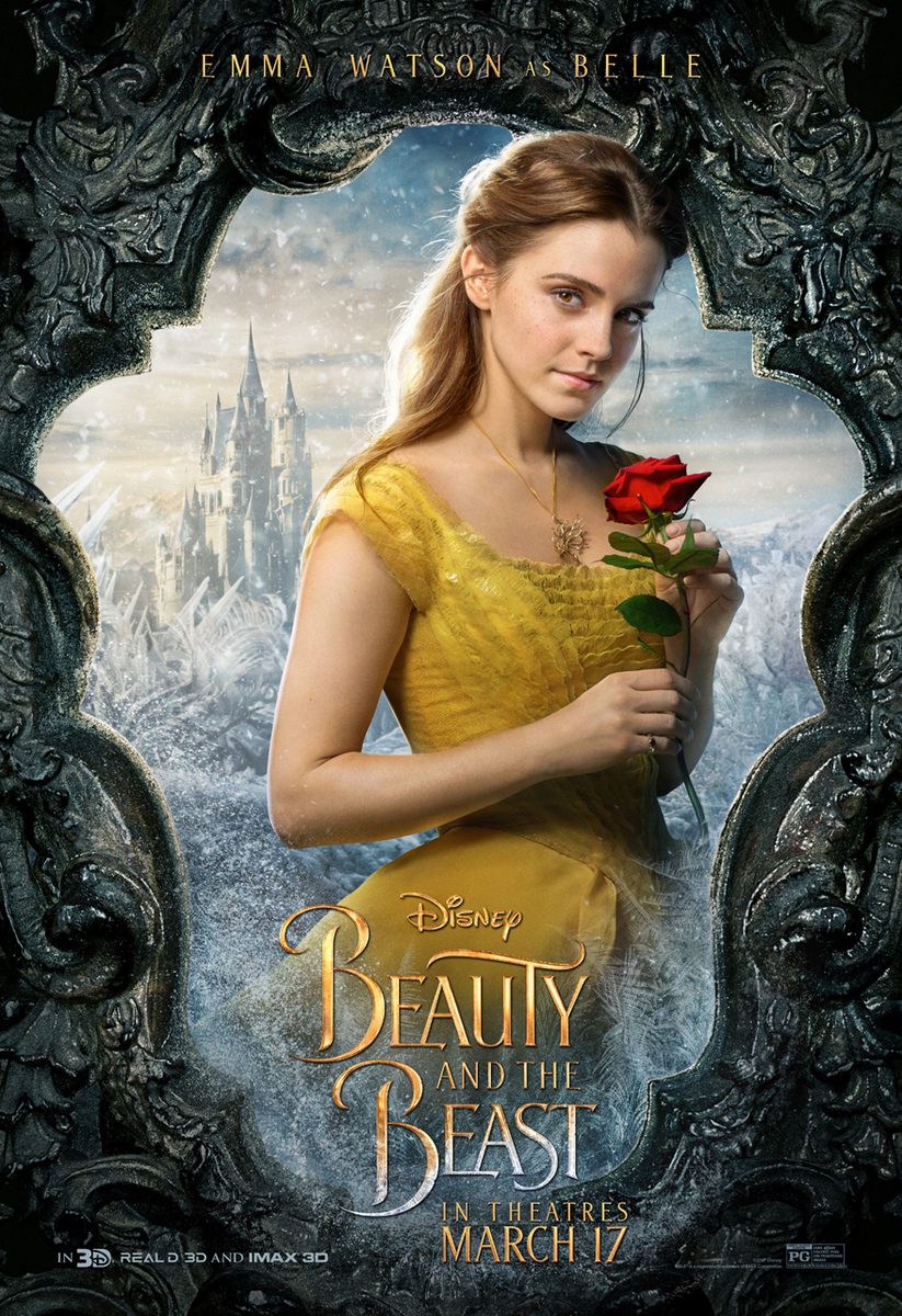 Beauty And The Beast Movie Poster Emma Watson