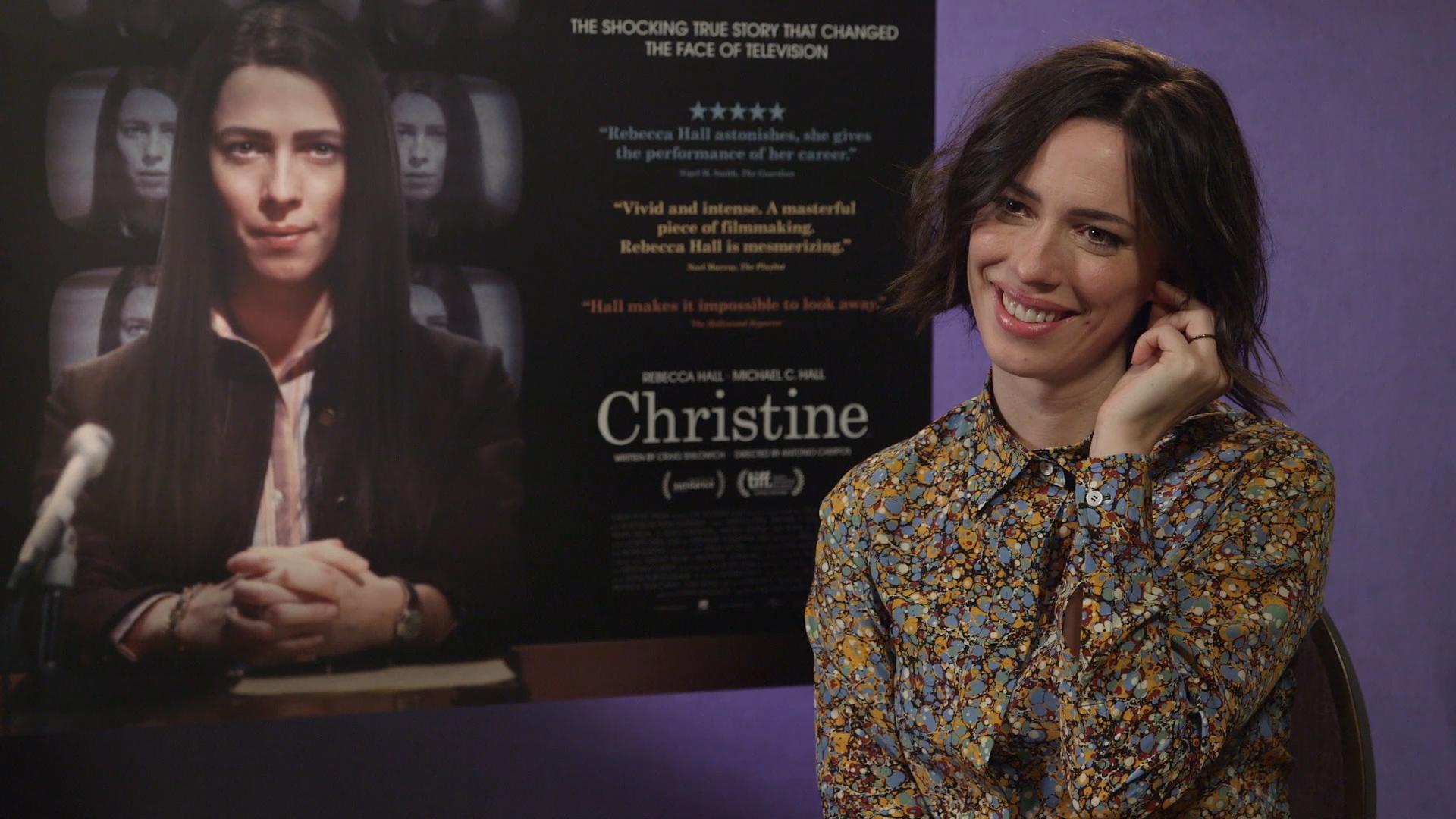 Christine Rebecca Hall Interview Heyuguys