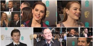 BAFTA 2017 red carpet