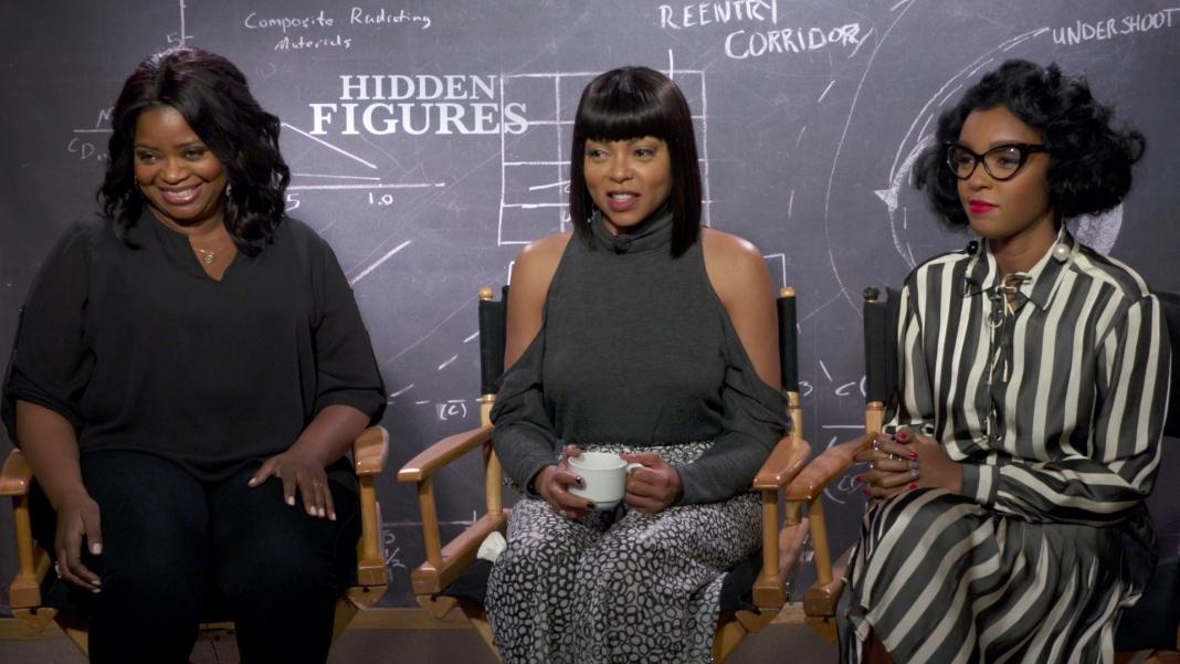 Hidden Figures Interview - Taraji P Henson, Octavia Spencer, Janelle Moane
