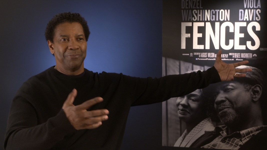 denzel washington interview on starring and directing
