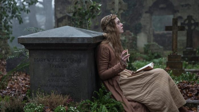 Elle Fanning First Look Image as Mary Shelley