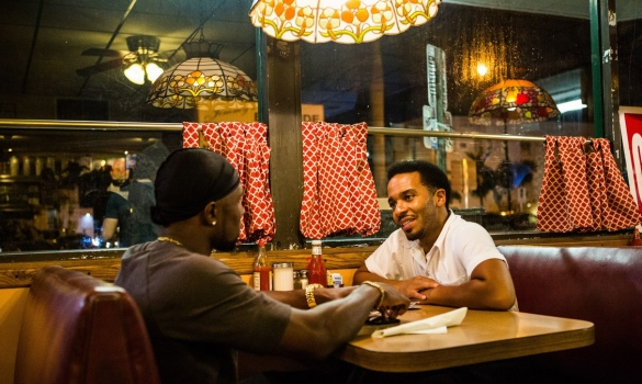 Trevante Rhodes and Andre Holland - Moonlight