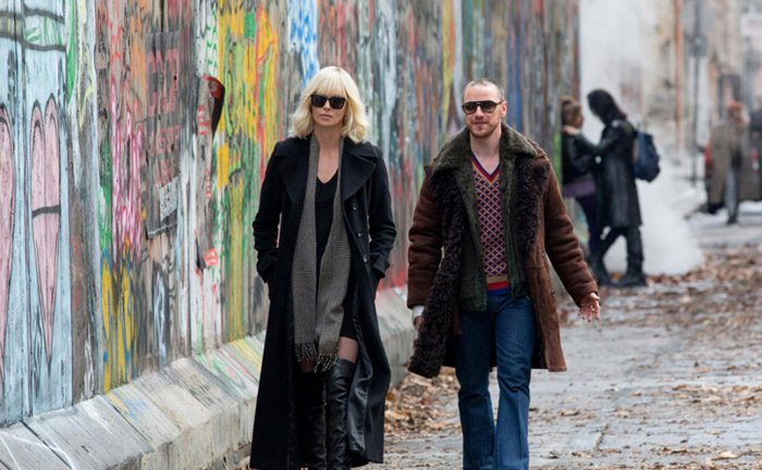 Atomic Blonde - Charlize Theron and James McAvoy