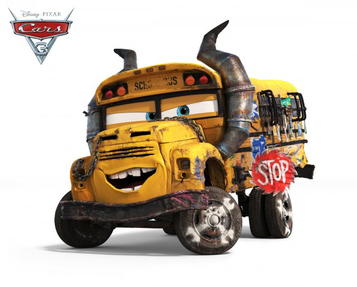 Cars 3 Miss Fritter - Lea DeLaria