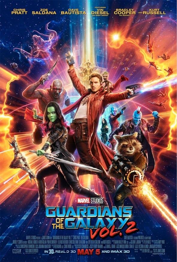 Guardians 2 Poster - HeyUGuys