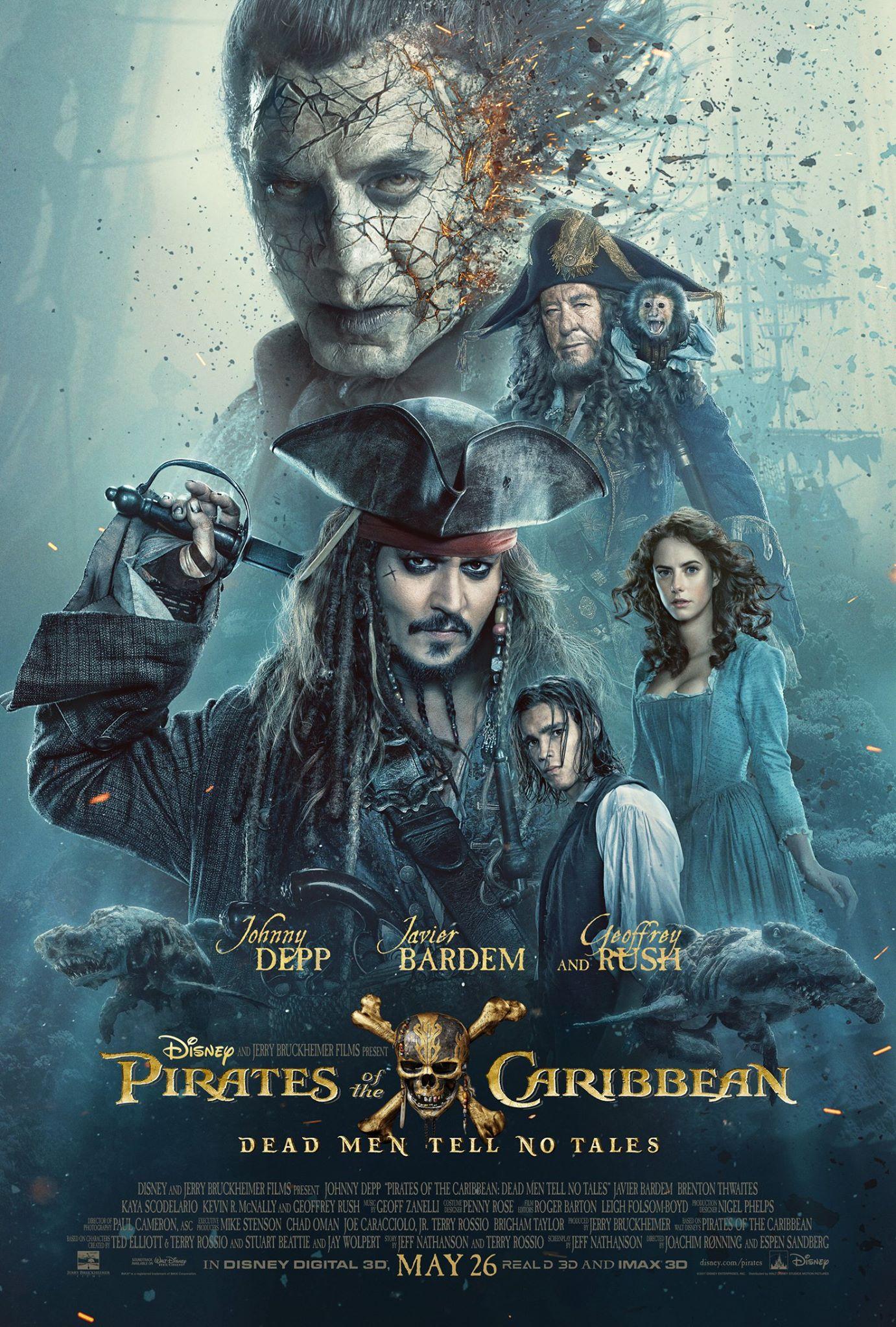 pirates of the caribbean 5 movie poster heyuguys