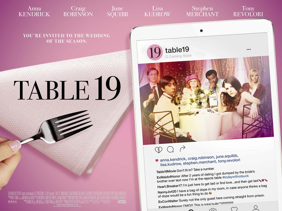 Table 19 quad poster heyuguys for Table 19 review