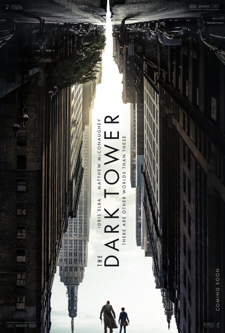 The Dark Tower Poster - Idris Elba and Matthew McConaughey