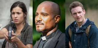 The Walking Dead - Ross Marquand, Seth Gilliam & Alanna Masterson