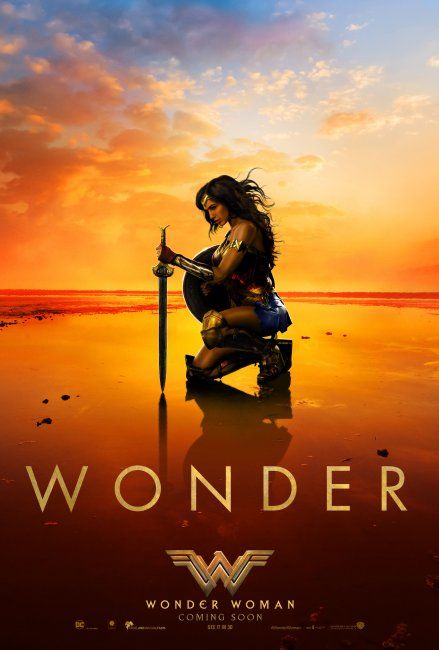 Wonder Woman UK Poster