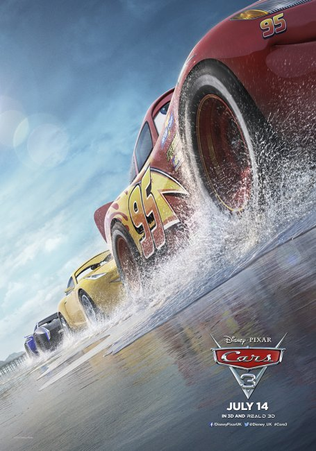Cars 3 UK Poster