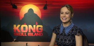 Brie Larson - Kong: Skull Island - Interview