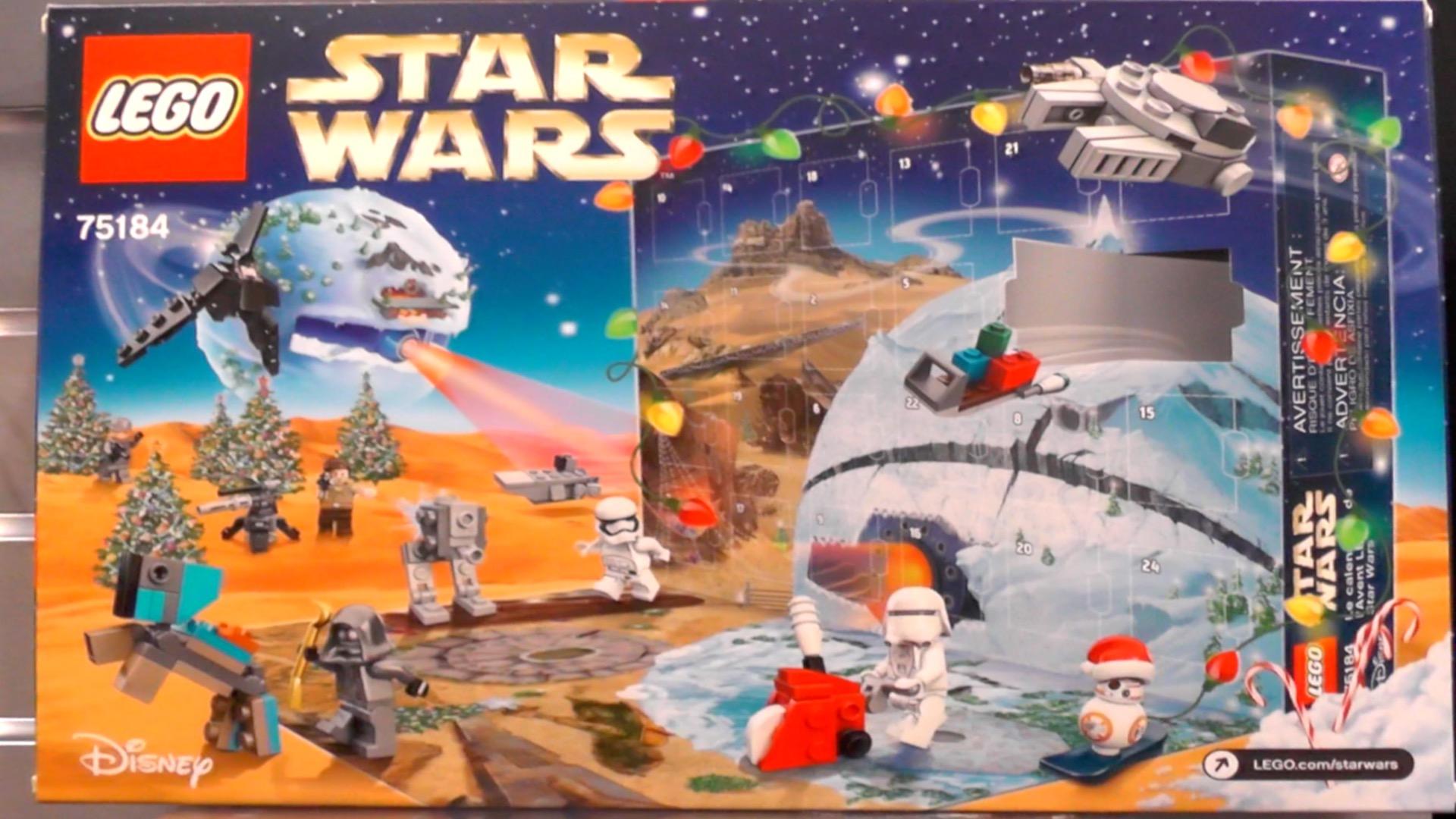 Snowboarding Lego Bb 8 Heads 2017 Star Wars Advent