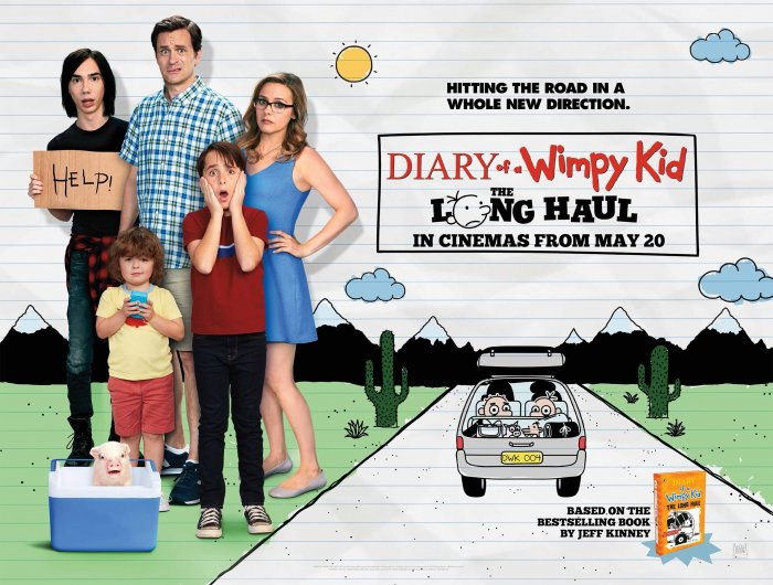 Diary of a Wimpy Kid: The Long Haul UK Poster