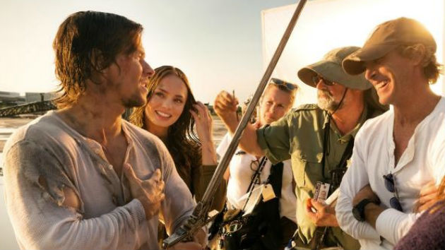 Mark Wahlberg, Laura Haddock & Michael Bay - Transformers: The Last Knight