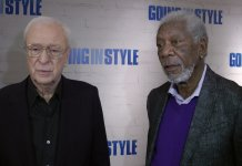 Morgan Freeman Michael Caine Going in Style Premiere