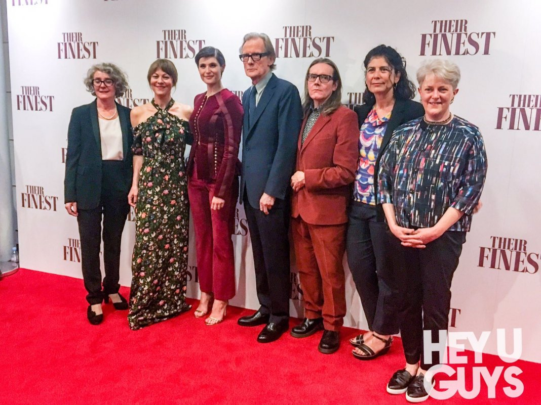 Their Finest Premiere Photocall