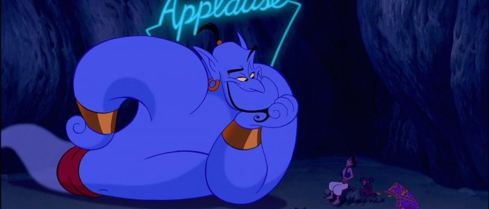 Robin Williams and Will Smith - Aladdin